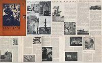 ARTE-GUERRA-VENT'ANNI-RIVISTA UFFICIALE DEL G.U.F.DI TORINO-APRILE-1933