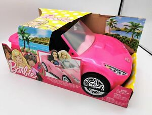 Barbie Car Cabrio 2 Seater Rosa With Detail Realistic
