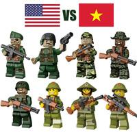 Baukästen Figur Vietnamkrieg Blutstauung Feldzeile Serie Militär Spielzeug Model