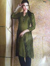 **STITCHED** Asian/Indian/Pakistani Designer Anarkali/Salwar Kameez Suit/kurti