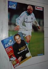 FOOTBALL DROIT AU BUT N°14 1999 OLYMPIQUE MARSEILLE OM RAVANELLI BRANDO PAPIN