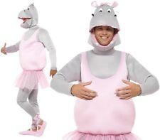 Smiffys 43393 Déguisement adulte Hippopotame Ballerine Rose Taille Unique