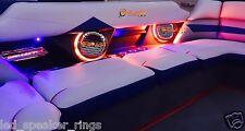 2pc Rockford Fosgate M282/M282B LED Speaker Light Rings - READY TO INSTALL