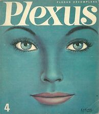 PLEXUS # 4 1966 contre culture Hugh Hefner Henry Miller Michel Simon Topor