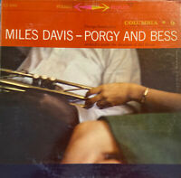 MILES DAVIS LP Porgy And Bess  COLUMBIA CS 8085 6 EYE stereo 1959. Play Tested