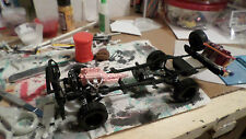 2012 Jeep Rubicon 1/25 frame chassis front rear axle transfer case 4x4 offroad