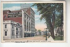 Colonial Trust Bank West Main Street  Waterbury Conn CT