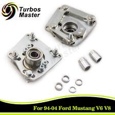 For 94-04 Ford Mustang V6 V8 GT Pair Camber Caster Plates Alignment Adj. Steel