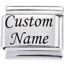 Custom Laser Engraved 9MM Charm