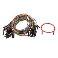 40pcs 254mm Pitch 1p Female Breadboard Double Head Jumper Wire Cable 40cm Long