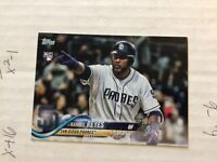 FRANMIL REYES 2018 Topps Update RC #US242 Rookie Card Flagship Padres Indians