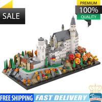 MOC-46237 Neuschwanstein Castle 1320 PCS Good Quality Bricks Building Blocks