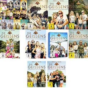 65 DVDs * DIE GEISSENS EINE SCHRECHLICH GLAMOURÖSE FAMILIE 1-18 SET # NEU OVP