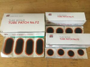 NEW REMA TIP TOP Patch Set - bicycle flat tire tube puncture repair kit refill