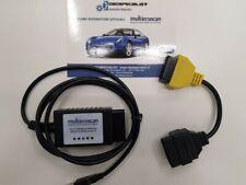 Multiecuscan ELM modificata CAN + #3 software FIAT PUNTO 500 PANDA FIORINO  MITO