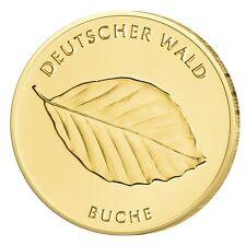 Goldmünze Buche BRD 20 Euro Gold 2011 st Prägestätte J