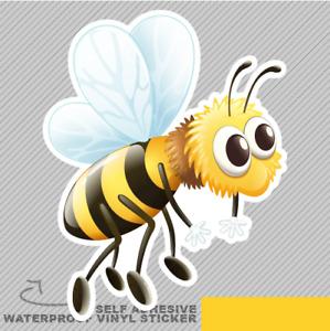 Flying Bee in The Sky Vinyl Sticker Decal Window Car Van Bike 2532