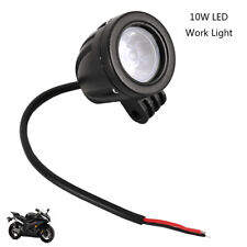 2 PCS 10W LED Motorcycle Spot Beam Lamp Car Bike Work Driving Fog Light  NEW AU