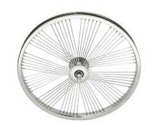 "Lowrider Dragster Bicycle 20"" 72 FanSpoke Front & Rear Coaster Wheel TubeTyreSet"