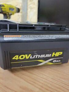 Genuine  Ryobi OP40602 40V Lithium-ion 6.0 Ah High Capacity Battery