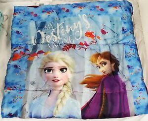 Frozen II Sleeping Bag Outdoor Indoor Travel Elsa Anna Girls Camping Kids