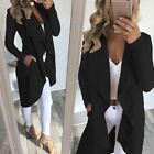 Women's Waterfall Sweater Cardigan OL Offfice Jacket Loose Coat Outwear Overcoat