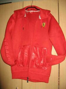 Puma Ferrari Team Herren Jacke, Größe S; Vintage