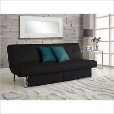Futon Frame Mattress Included Sofa Beds Small Spaces Storage Couch Futons Bed
