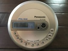 Japan Panasonic Walkman Sl-Sv550 Portable Cd Fm/Am Mp3 Player 30 Station Memory