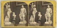 UK London International Exhibition Foto Stereo Stereoview Vintage Albumina