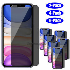 iPhone 11 Pro Max Privacy Anti Spy Tempered Glass Screen Protector Guard Saver