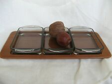 MID CENTURY Digsmed Denmark 1964 teak serving tray Servier-Tablett 60s neuwertig