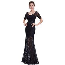 Ever-Pretty Polyester V-Neck Short Sleeve Dresses for Women
