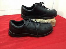Women's RED WING Steel Work Safety SHOES sz 8.5 Black Oil & Slip Resistant 2330