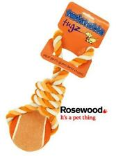 "Rosewood Twistable TUGZ Tennis Ball 4"" Best Gum Best Chum Dog Toy Assorted Color"