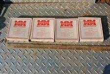 Nos Minneapolis Moline Tractor Piston Ring Set Part 10r54 Four Boxes