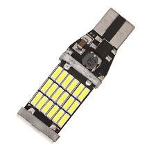 2x T15 W16W 45smd 4014 sin errores LED Coche Marcha Atrás Bombillas 6000k