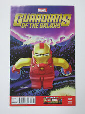 Guardians of the Galaxy #7 (Marvel 2013) Lego Iron Man Variant Leonel Castellani