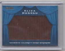 Razor Wardrobe Swatch Relic Trading Card Eliza Dushku (Buffy,Angel,Dollhouse) A3