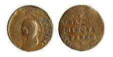 pcc1833_9) FERMO - Pio VI (1775-1799) - Madonnina 1797