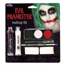 Malvagio burlone Clown Make Up Halloween Horror colori per il Viso Costume