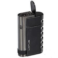New - Lotus Mercury Butane Torch Cigar Lighter - Built in cigar punch!