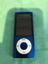 Apple iPod nano 5th Generation Blue (8GB) FM Radio & Camera Version