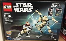 Lego Star Wars 66535- Obi-Wan Kenobi vs. General Grievous Battle Pack-NEW