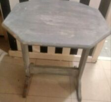 Shabby Chic Folding Table with Annie Sloan Paint & Waxed Finish