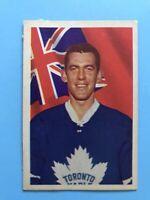 DONALD SIMMONS 1963-64 PARKHURST Hockey Card #2 DAMAGED ON BACK