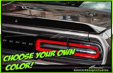 Dodge Challenger Spoiler Blackout Decal 2015 2016 2017 RT SRT8 Scat Pack Shaker