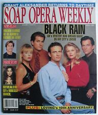 AW's PAUL MICHAEL VALLEY JENSEN BUCHANAN  July 6, 1993 SOAP OPERA WEEKLY