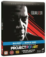 The Equalizer 2 Limited Edition Steelbook Blu Ray + Bonus Disc Blu Ray