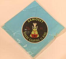 BSA Camp Samoset 1965 Neckerchief